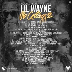 lil-wayne-no-ceilings-2-mixtape-tracklist